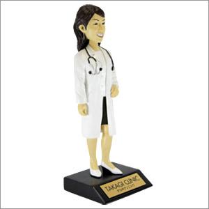 ドクターマイフィギュア/女性医師(白衣ver.聴診器有り)
