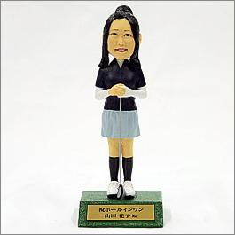 ゴルフフィギュア14cmタイプ(女性)セミオーダー