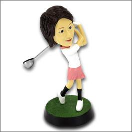 ゴルフマイフィギュア/ナイスショット女性