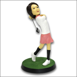 ゴルフマイフィギュア/ロングドライブ女性