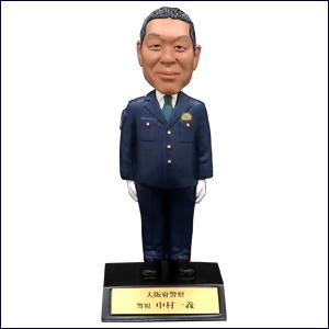 警察官マイフィギュア(男性制服2※太め)